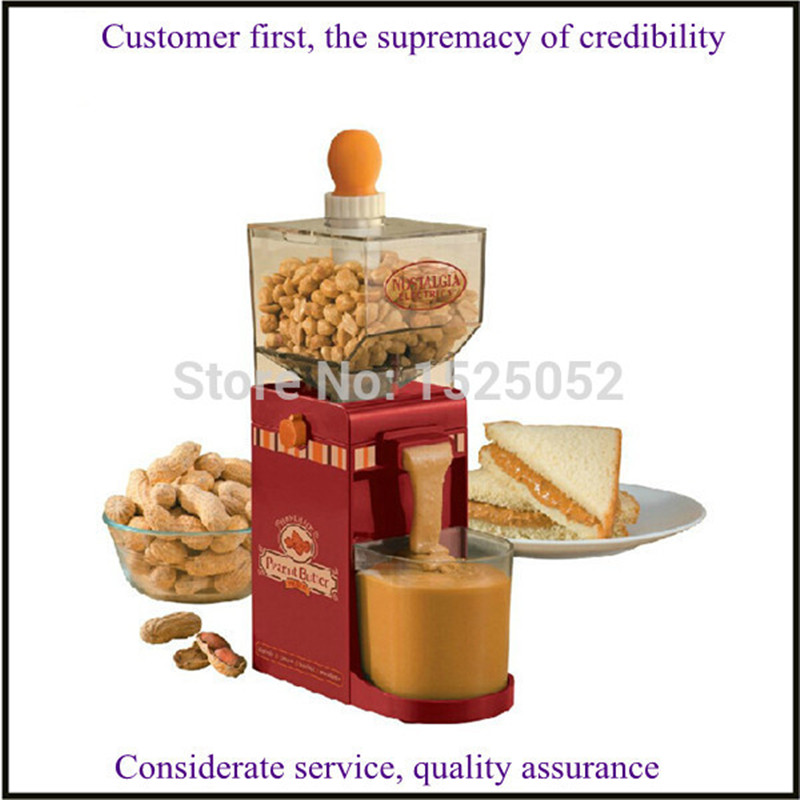 mini home use electric peanut butter maker making machine nut butter maker sesame/ walnut sauce butter maker household peanut butter maker machine home use peanut butter machine