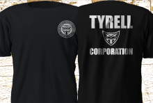 2019 Funny New Tyrell Corporation Blade Runner Movie Black T-Shirt Double Side Unisex Tee