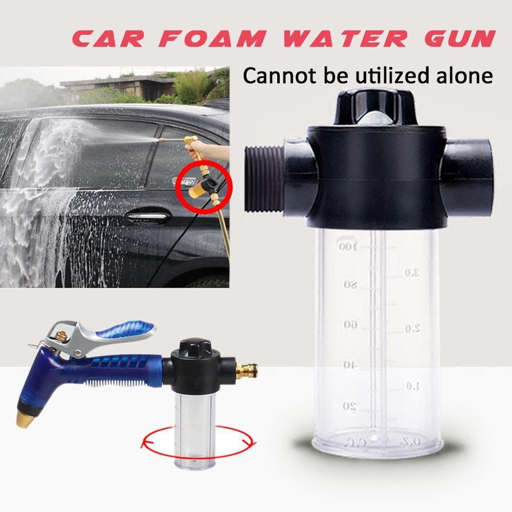 Household Multifunctional Car Washing Water Gun 100ml Snow Foam Bottle Lance Dropship 7.12()