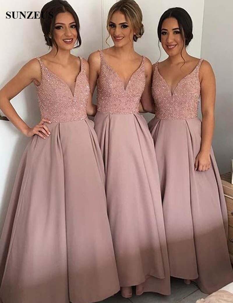 Excepcional Brillantes Vestidos De Dama Verde Colección de Imágenes ...