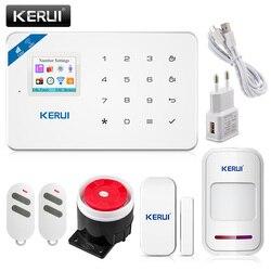 2017 w18 wifi gsm sms home burglar security alarm systems pir motion detector touch screen alarm.jpg 250x250