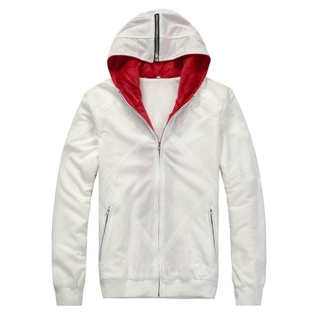 Ainiel Creed 2 Desmond Miles Cosplay traje blanco negro capa con ...