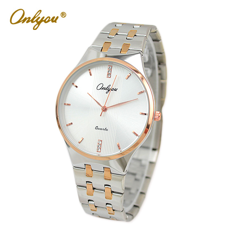 Onlyou Original Luxury Brand Fashion Quartz Watches Women Men Business Casual Ladies Gold Wrist Watch Clock With Diamond 8828 подвесная люстра reccagni angelo l 6258 6 3