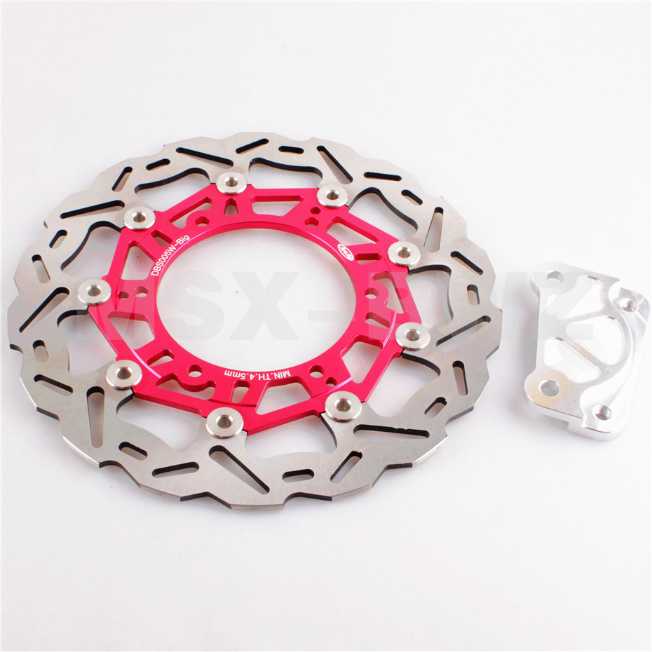 Front Brake Disc Rotor For Yamaha YP MAJESTY 96-97 DX250 98-99 DX ABS 250 99-05 1996 1997 1999 2000 2001 2002 Stylish Red
