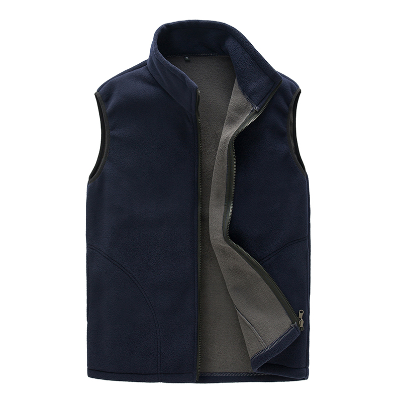 Jackets & Coats Men's Clothing Winter Vest Men 100% Thicken Fleece Fashion Colete Waistcoat Male Gilet Sleeveless Jacket Bodywarmer Mens Stage Coat Clothing Matching In Colour