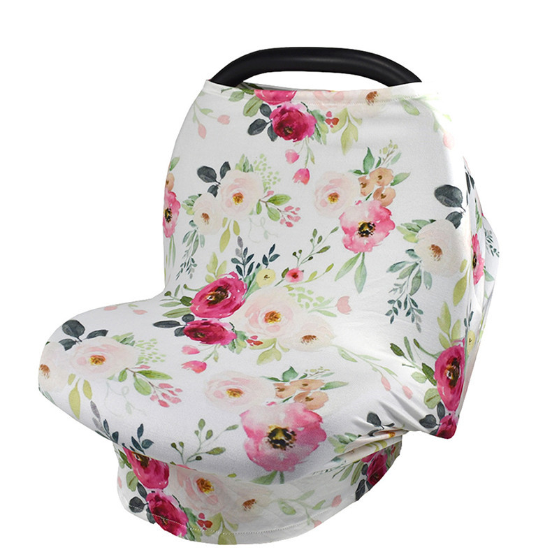 Multifunction Stretchy Baby Car Seat Cover Nursing