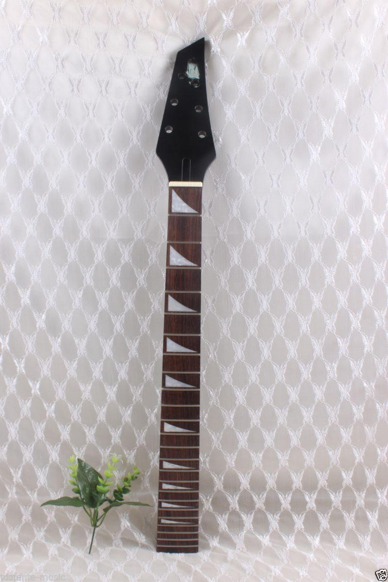 New Electric guitar neck 22 fret 25.5'' maple neck Fretboard Unfinished #913 new electric guitar neck maple 24 fret 25 5 truss rod unfinished no frets nice