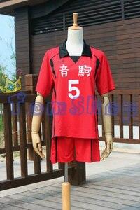 Image 3 - Haikyuu!! Nekoma High School #5 Kenma Kozume Cosplay Costume Jersey Sports Wear Uniform Size M XXL Free Shipping