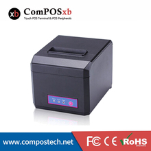 Lowest Price Thermal Receipt POS Printer 80mm For Supermarket System USB+RS232+LAN Interface