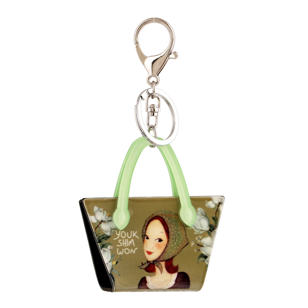S.vex 2018 Keychain Keyring Bag Shaped Women Men Bag Car Aessories Fashion Key Chains Statement Handbag Keys