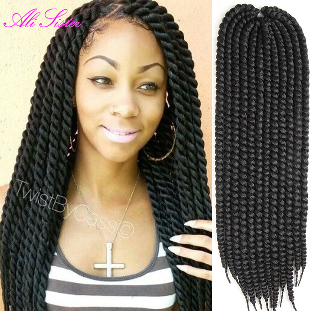 gray braiding hair crochet twist hair havana mambo twist crochet ...