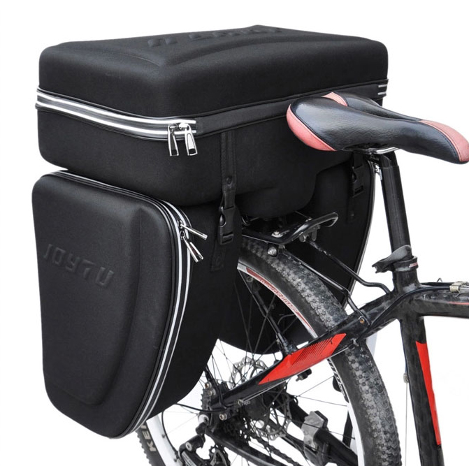 все цены на JOYTU bicycle rear bracket Pack Outdoor cycling long distance travel bag three-in-one bike tail bag