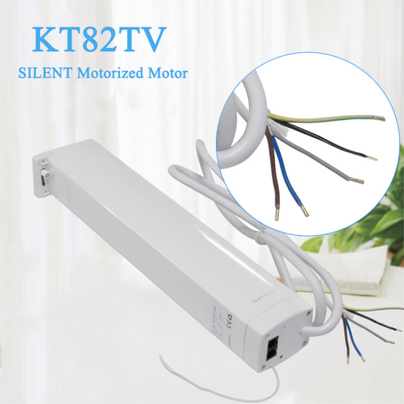 Ewelink Dooya Mobile APP Direct Control Electric curtainMotor KT82TV/W Mute Sunflower Smart Home Curtain Electric System