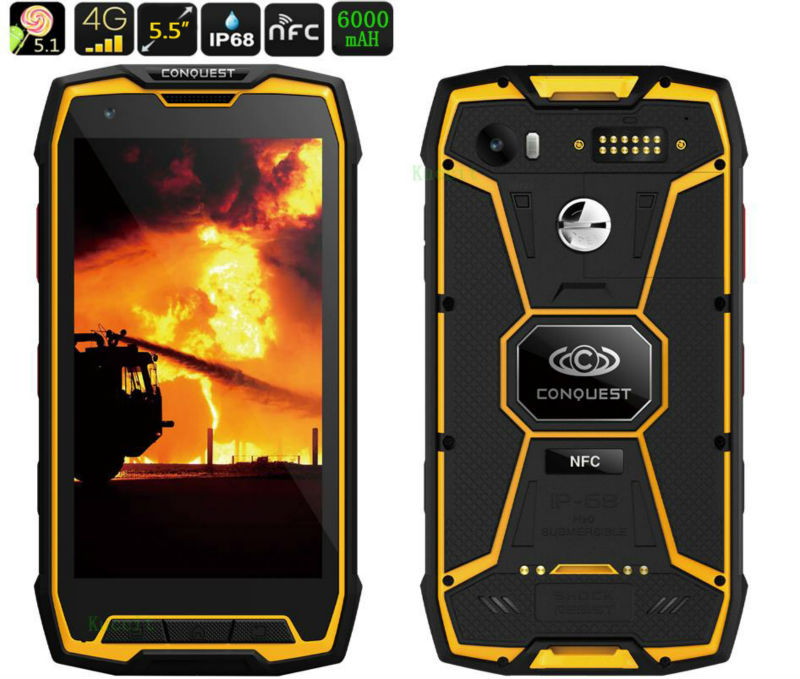 Original S9 ip68 Rugged Waterproof Phone Mobile 8 Octa Core Android <font><b>Smartphone</b></font> 5.5