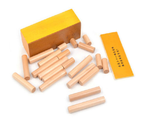 Candice guo! educational wooden toy Intelligence game put 21pcs Inspired stick into box inspiration gift 1set candice guo wooden toy wood block duck pull cart board cannula pillar vehicle shape macth game birthday gift christmas present