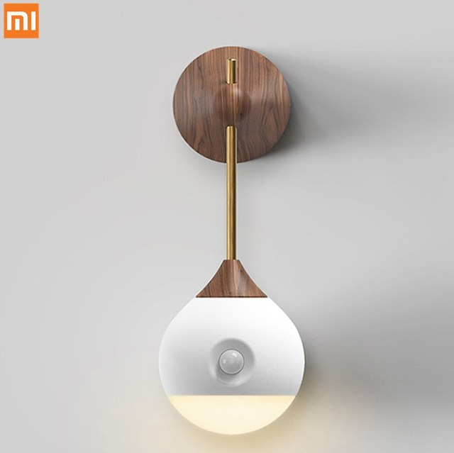 Xiao mi sothing 스마트 센서 야간 조명 휴대용 적외선 유도 usb mi smart home 용 이동식 mi jia 야간 램프 충전