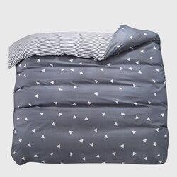 1 pçs capa de edredão 220*240 cama colcha cobertor consolador capa impressão única rainha dupla rei personalizado 140*200cm nórdico
