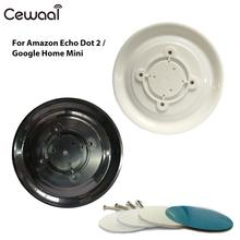 Cewaal Magnet Fixed Seat Magnetic Wall Home Speaker Magnet Mount for Echo Dot 2 Google Home Mini