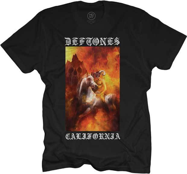 Deftones California Rider T Shirt S M L Xl 2Xl Brand New Official T Shirt