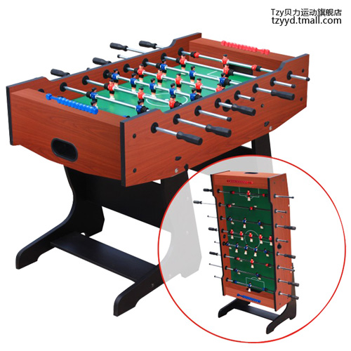 Playcraft Sport Foosball Table With Folding Leg Soccer Level Designed For High End