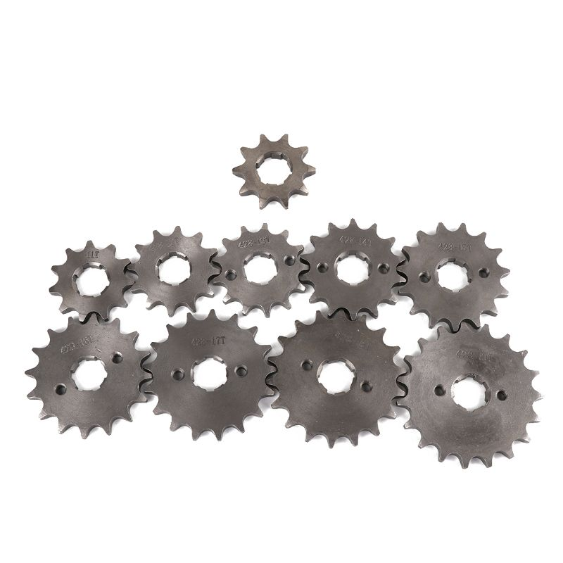 Off-road Vehicle Motorcycle Front Sprocket Gear Hole Inner Dia 20mm 10T To 19T