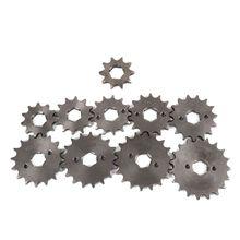 Переднее зубчатое отверстие для внедорожника мотоцикла внутренний диаметр 20 мм от 10 до 19 т