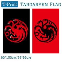 Blood Targaryen Sigil Logo Licensed Large Flags 90x150cm 60*90cm Polyester Digital Print Banner 3x5ft огромный российский флаг 3x5ft 90x150cm из россии