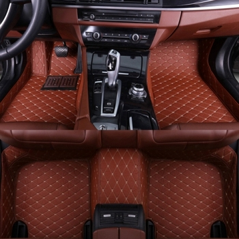 SUNNY FOX car floor mats for BMW 7 series E65 E66 F01 F02 G11 G12 730i 740i 750i 730d anti slip foot case rugs liners  image