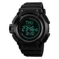 Outdoor Compass Sports Watches Men Hiking Countdown Chrono Digital Watch Waterproof Wristwatches Male Relogio Masculino