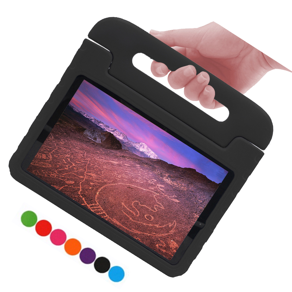For Samsung Galaxy Tab A 10.5 <font><b>Case</b></font> Kids EVA Foam <font><b>SM</b></font> <font><b>T590</b></font> T595 <font><b>Case</b></font> Shockproof Handholder Stand Cover For Samsung Tab A 10.5 2018 image