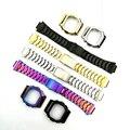 Roestvrij Stalen Horlogebanden Horlogebandje Horlogebanden Armband Fit Voor Horloge DW5600 DW5610 GMWB5000 GW5600 Serie Groothandel 2019