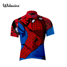 Cycling Jerseys spider Maillot Ropa Ciclismo Short Sleeves Clothes Bike Wear MTB Bicycle Shirts Sportswear Pro Team 5041