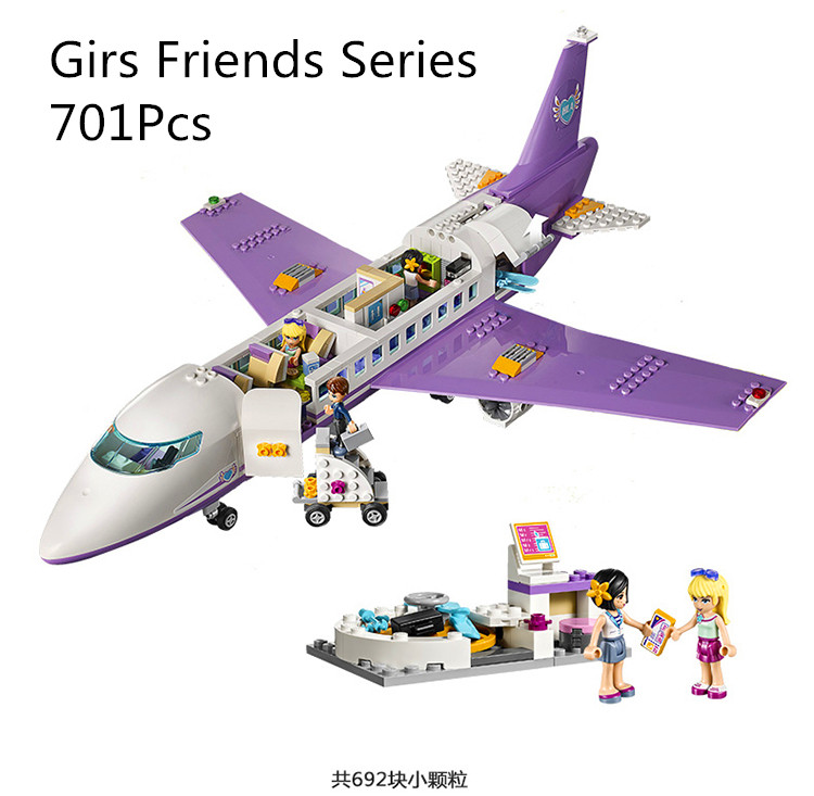 CX 79175 701Pcs Model building kits Compatible with Lego friends 41109 heartlake airport 3D Bricks figure toys for children mehofoto photography background for children new fabric flannel backdrop princess fairy tale for kids photographic studio cm6708
