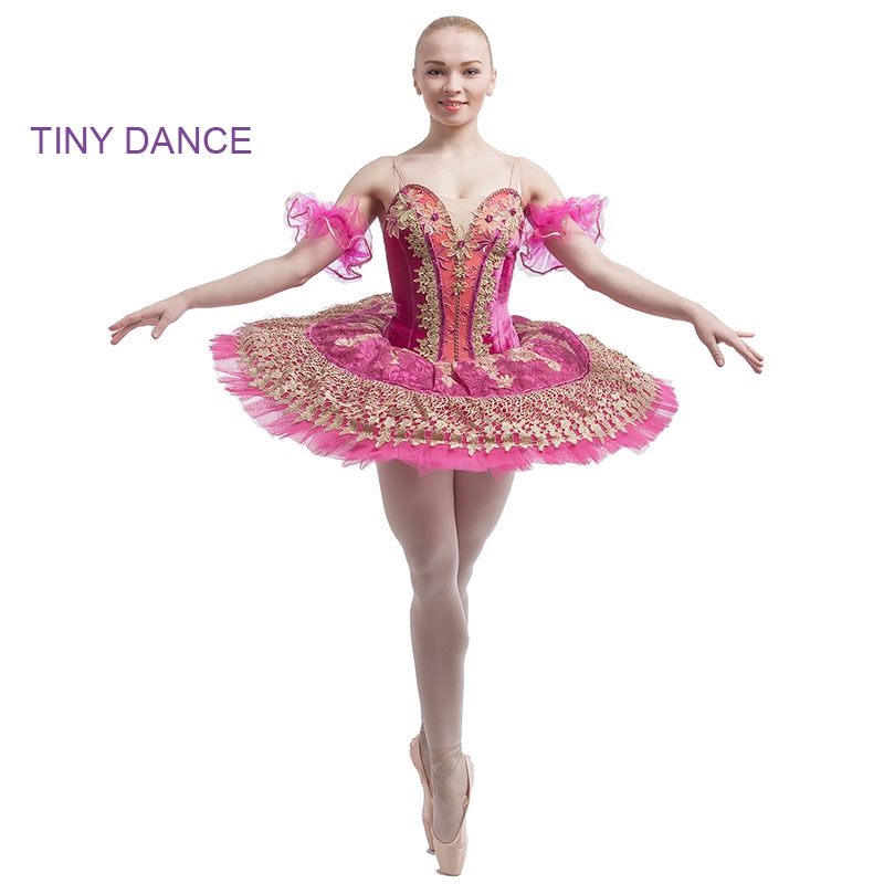Adult Professional Classic Ballet Dance Tutus Hot Pink ...