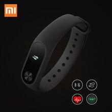 Оригинал xiaomi mi группа 2 смарт браслет браслет с oled экран сенсорный mi группа 2 smartband сердечного ритма фитнес
