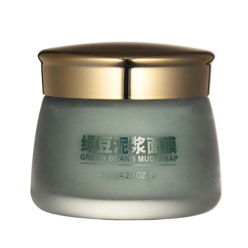 BIOAQUA Mung Bean Mud Washable Mask Depth Replenishment Moisturizing Oil Control Unisex Skin Care Makeup in Treatments Masks from Beauty Health