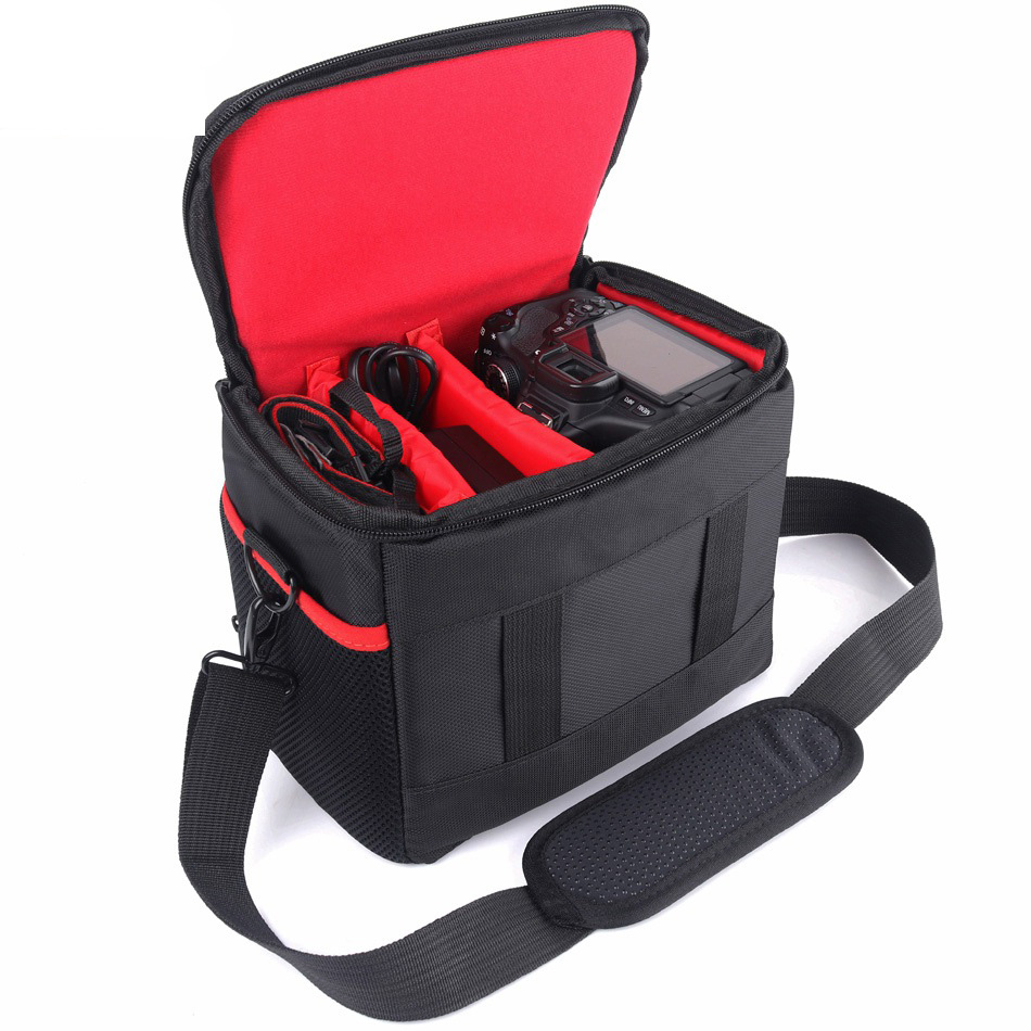 High Capacity DSLR Camera Bag Case For Canon 1300D 200D Nikon D3400 D5300 D7200 Sony A7RII III A7 II III Photo Camera Backpack