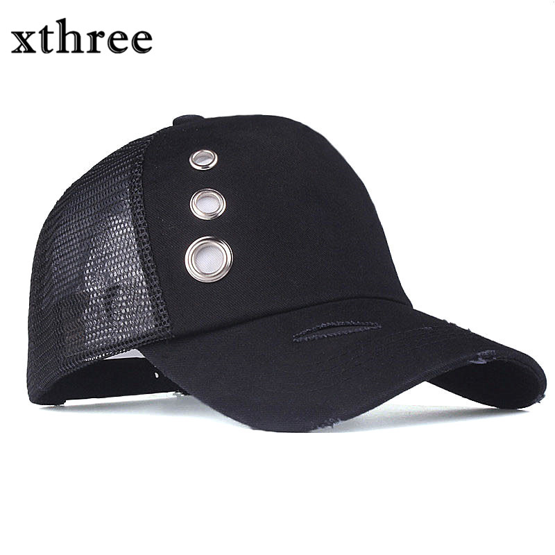 Xthree Ring Damage design summer baseball cap mush fitted cap girl snapback  hat for men women casual gorras 5 panels -in Baseball Caps from Apparel ... 3f25de0e17f3