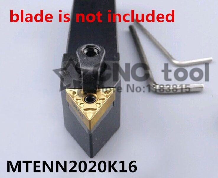 MTENN2020K16 Turning Tool Holder,CNC tool holder, External turning tools,M Clapming Type Lathe cutting tool for TNMG1604 Insert