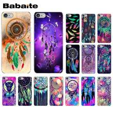 Babaite Blue Dreamcatcher DIY 인쇄 드로잉 전화 케이스 커버 쉘 iPhone 5 5Sx 6 7 7plus 8 8Plus X XS MAX XR(China)