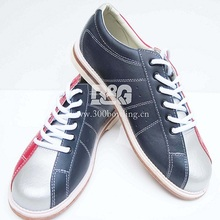 quality new design unisex professional  leather bowling shoes