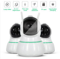 1080P 360 Degree Fisheye Wireless Panoramic PTZ IP Camera IR Cut Night Vision Two Way Audio