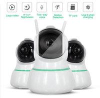 1080P 360 Degree Fisheye Wireless Panoramic PTZ IP Camera IR Cut Night Vision Two Way Audio