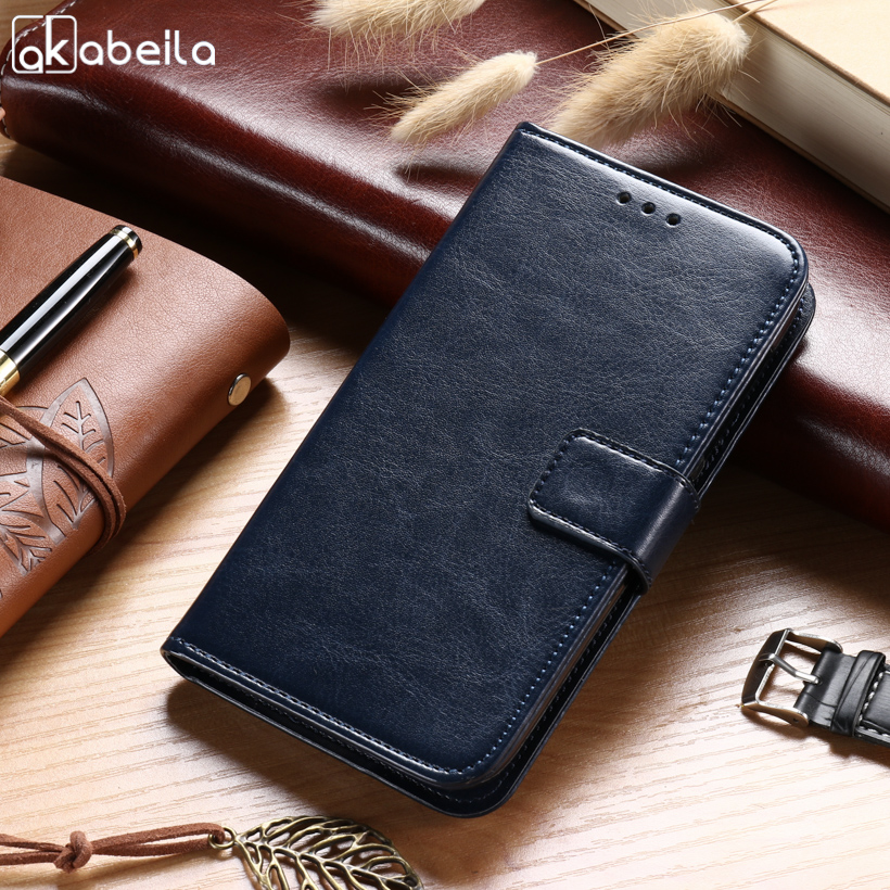 AKABEILA Cases For HTC Desire 526 526G+ 526G 326 4.7 inch Leather Wallet Phone Case Covers Holsters Card Holders Housings Conque