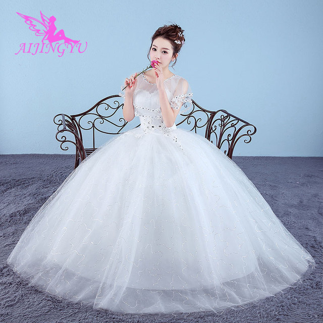 1d3c54ef64 AIJINGYU dresses wedding dress bridal shop online china WK668-in ...
