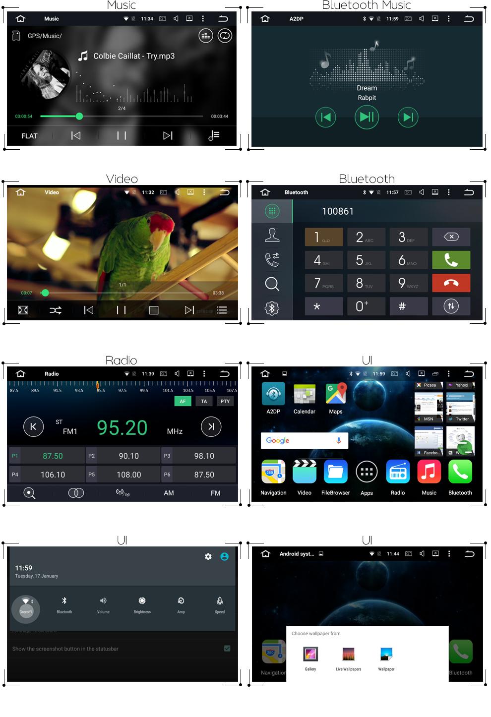 Best 6.2 Android 8.0 7.1 Car dvd player gps for Toyota Hilux Vios Camry Crown Corolla Prado RAV4 Yaris Octa Core 4GB RAM 32G ROM 11