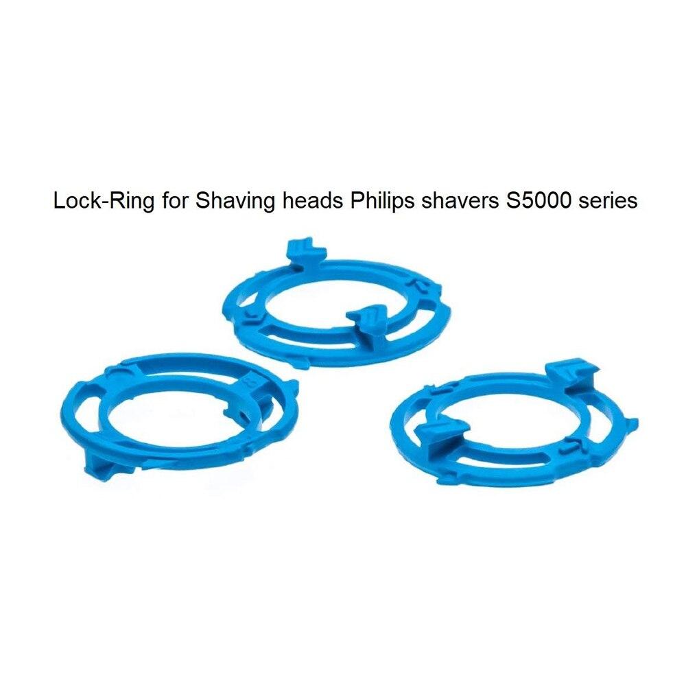 Shaver&Razor Lock-Ring (Retaining-Plate, Holder) For Philips Shaving Heads Model/Type SH50 (Colour Blue) For Shaver Series S5000