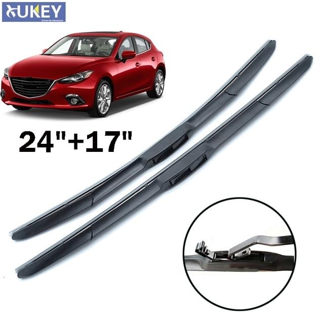 Delightful Xukey 24u0027u0027 17u0027u0027 Front Window Windscreen Wiper Blades For Mazda 3 Axela