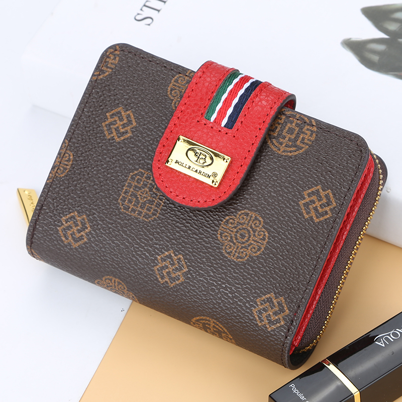 Women Wallet Leather Purse Hasp Wallet Female Short Small Purse Female Vintage Card Holder Zipper Ladies Wallet Coin Purse