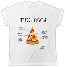 586a32d1f3 Pizza Slut Unisex T-Shirt Pyramid Yummy Food Vegetable Slice T Shirt Pizza  Hut New Tops 2018 Print Letters Men T-Shirt